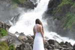 Riding the waterfall